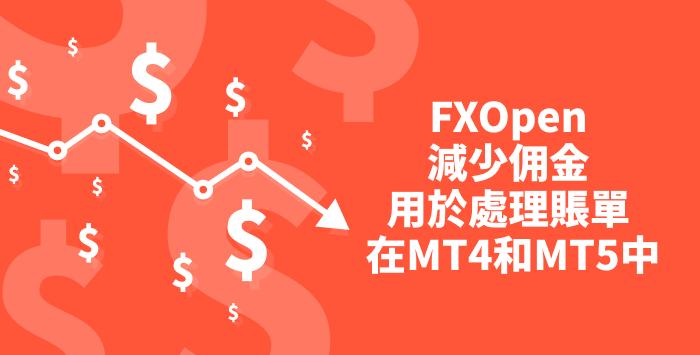FXOpen改善了ECN帐户的交易条件