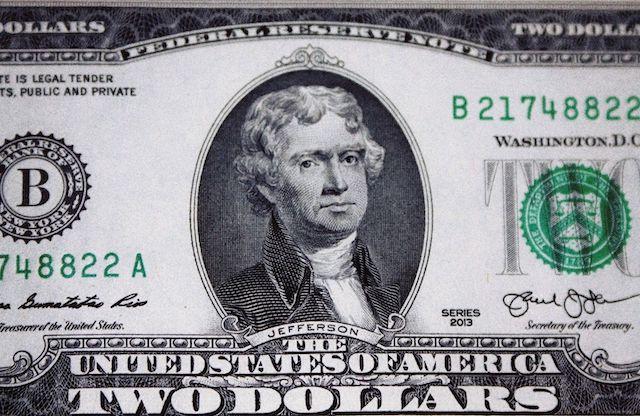 美元值多少钱?